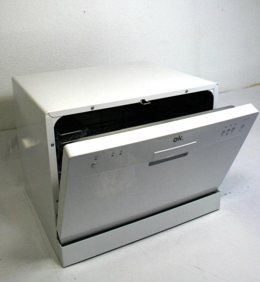 Ok odw 120 weiss tischgeschirrspuler a 3 programme for Tischgeschirrspülmaschine