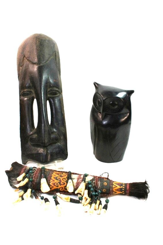 9x masken statuen im afrikanischen stil afrika holz holzstatuen ebay. Black Bedroom Furniture Sets. Home Design Ideas