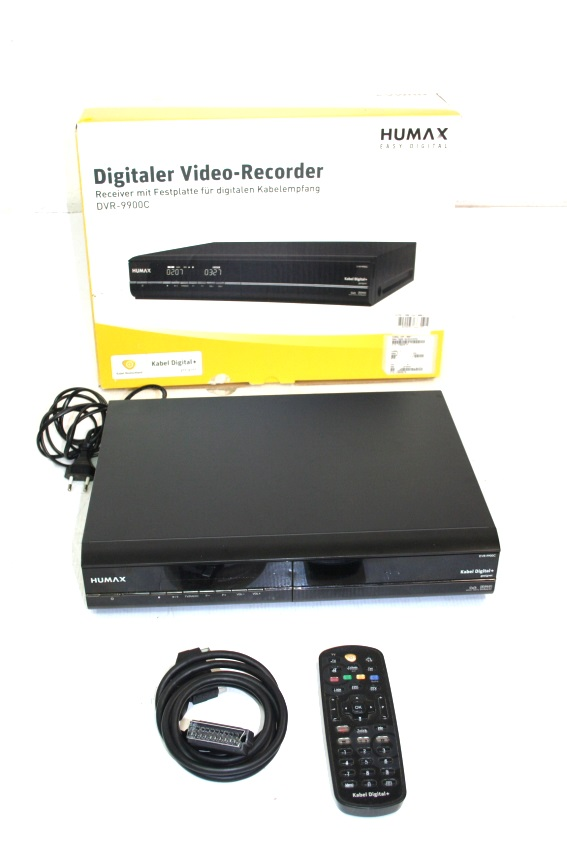 humax dvr 9900c 160gb kabel twin receiver kabel receiver. Black Bedroom Furniture Sets. Home Design Ideas